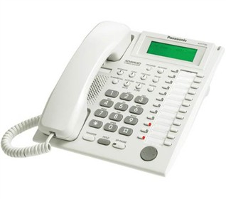 panasonic kx T7735 white r