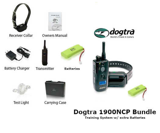 dogtra 1900ncp with extra batteries bundle battery