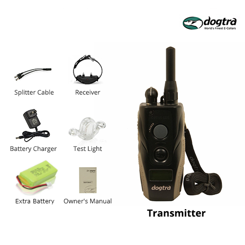 dogtra 1900s bundle with extra transmitter battery