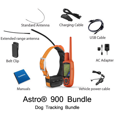 garmin astro 900 t 9 dog tracking bundle