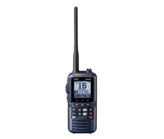 standard horizon hx890 navy blue handheld vhf 6w