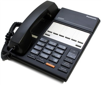 panasonic kx t7250 black