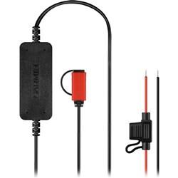 <ul> <li>Adds USB Mini-B Connection to Vehicle</li> <li>Hardwires to Vehicle's Electrical System</li> <li>Supports VIRB X/XE/Ultra 30 Cameras</li> </ul>