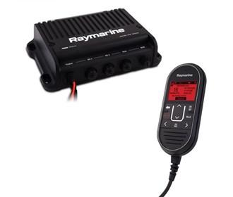 raymarine ray91 modular dual station vhf black box radio system with ais
