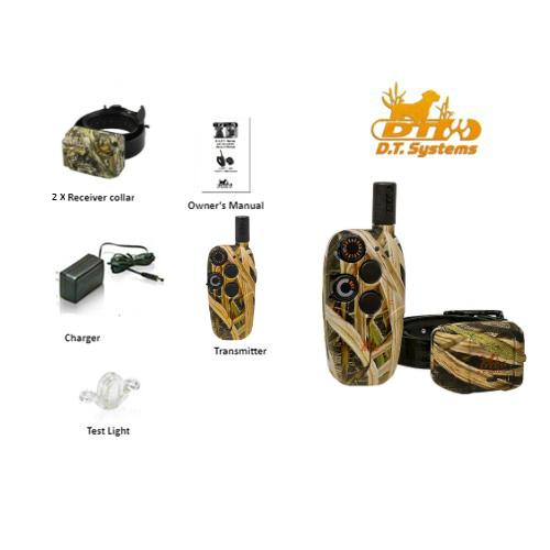 dt systems master retriever 1100 camo w extra collar2 dog system