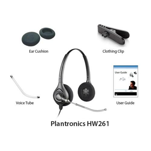 plantronics supraplus hw251 with qd polaris cable