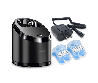 braun clean and charge station bundle