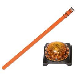 "<ul> <li><span class=""blackbold"">3/4"" Collar Strap</span> <li>Fits Neck Sizes 8""– 28"" <li>44-Hole Correct-Fit <li>Metal Rollerbuckle for Easy Fastening <li>Metal D-Ring for Fast Leash Attaching <li>Metal Strap Keeper for Safety  <li>Waterproof &amp; Rustproof  </ul>"