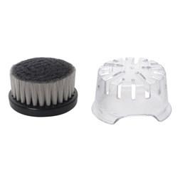 """<ul> <li><span class=""""blackbold"""">Deep Cleansing Brush</span></li> <li>Charcoal-infused Bristles</li> <li><span class=""""redbold"""">Vented Headguard</span></li> <li>Compatible With XR1400 &amp; XR1410 Verso Shavers</li> </ul>"""