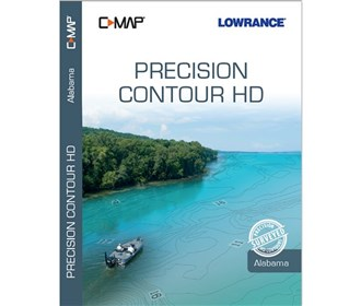 lowrance c map precision contour hd chart