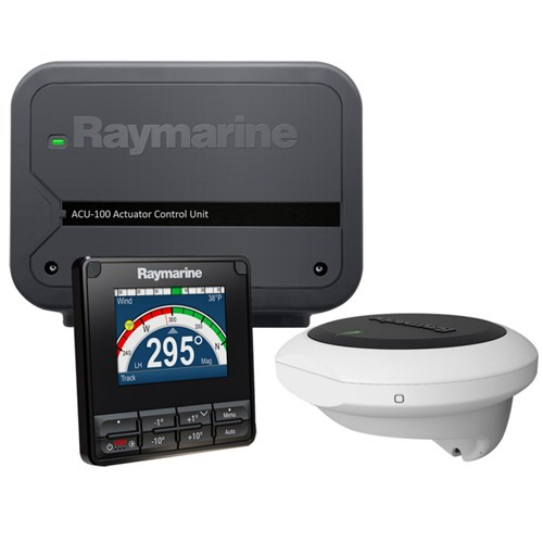 raymarine ev 100 wheel autopilot system