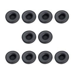 "Product # 14101-70 <br/> <ul>   <li><span class = ""blackbold"">Ear Cushions</span></li>   <li>Black Leatherette</li>   <li>Comfortable To Wear</li> <li>For Use with Engage 50 Stereo &amp; Mono</li>   <li>10 Pieces</li> </ul>"