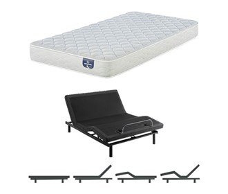 serta 100 firm mattress and adjustable base