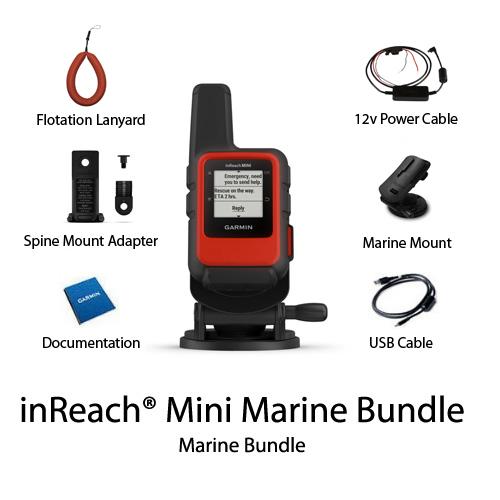 garmin inreach mini marine bundle 010 01879 02