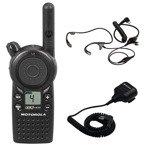 motorola cls1410 accessory bundle