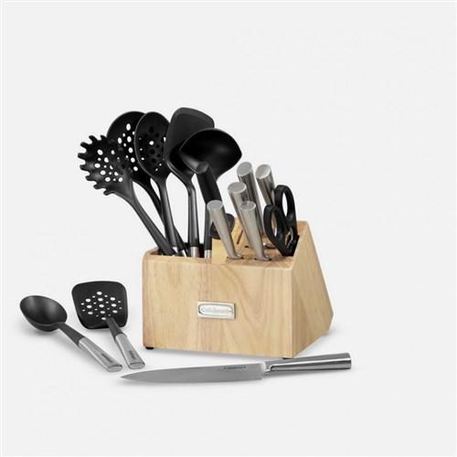 cuisinart 16 piece cutlery block and tool crock set ctg 00 cb16