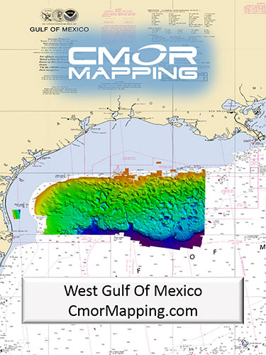 cmor mapping west gulf of mexico