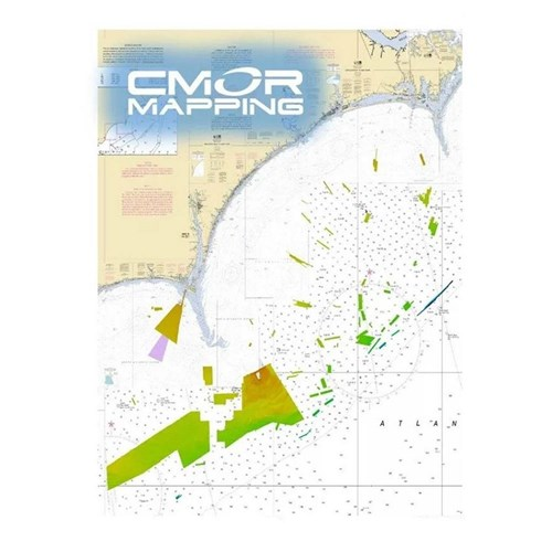 cmor mapping georgetown and cape lookout