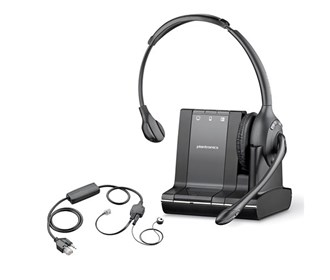 plantronics savi w710 with ehs apv 63 for avaya