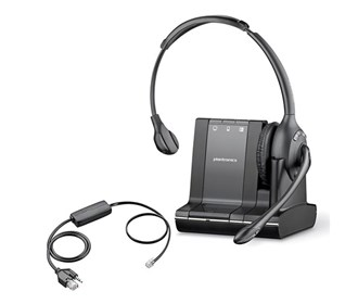 plantronics savi w710 with ehs apd 80 for grandstream