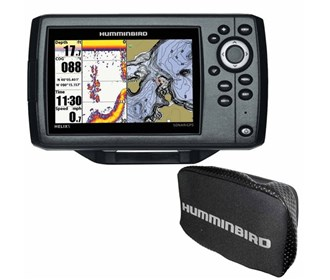humminbird helix 5 chirp di gps g2 combo with free cover