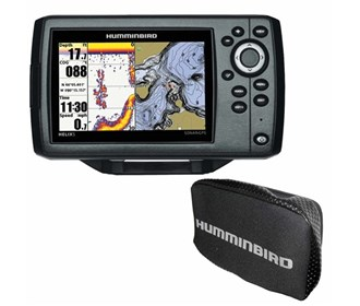 humminbird helix 5 chirp gps g2 combo with free cover