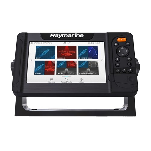 raymarine element 7 hv w/ nav plus us and canada chart