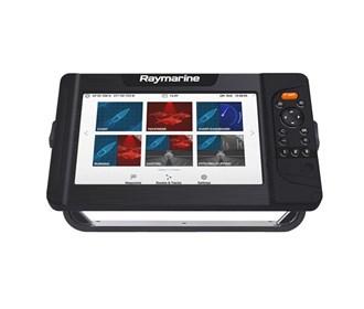 raymarine element 9 hv chartplotter and fishfinder combo