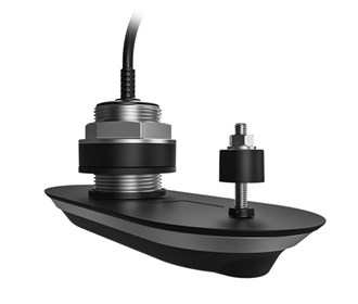 raymarine rv 400 realvision 3d stainless steel thru hull transducer