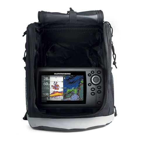 humminbird helix 5 chirp gps g2 portable with t shirt