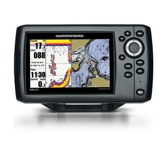 humminbird helix 5 chirp si gps g2 combo with t shirt