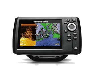 humminbird helix 5 di g2 chirp gps combo with navionics nav chart with t shirt