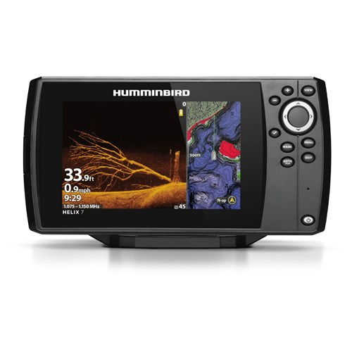 humminbird helix 7 chirp mega di gps g3 nav with t shirt