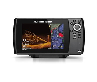 humminbird helix 7 chirp mega di fishfinder gps combo g3 with t shirt