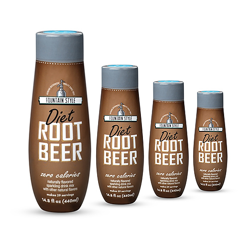 sodastream diet root beer sodamix 4 pack