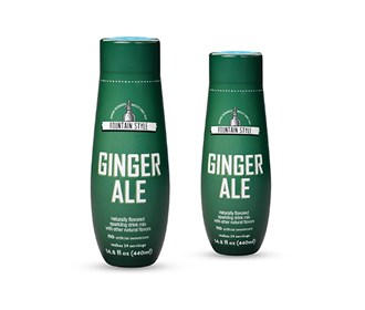 sodastream ginger ale sodamix 2 pack