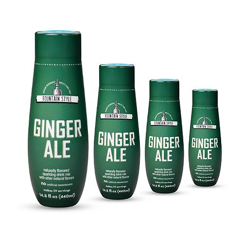 sodastream ginger ale sodamix 4 pack
