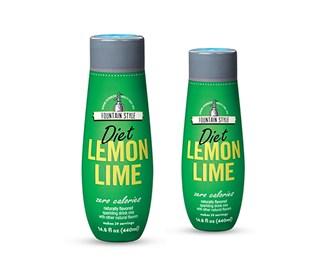 sodastream diet lemon lime sodamix