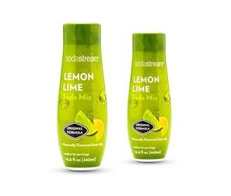 sodastream lemonlLimesSodmMix 2 pack