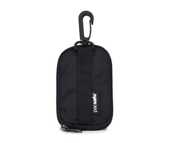 pacsafe packable water bottle pouch black
