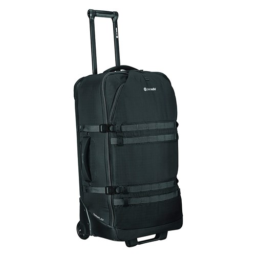 pacsafe venturesafe exp29 wheeled luggage   black