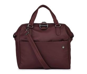 pacsafe citysafe cx satchel   merlot
