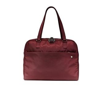 pacsafe citysafe cx slim briefcase   merlot