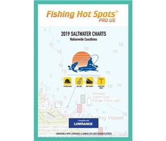 fishing hot spots pro sw 2019 saltwater charts e189