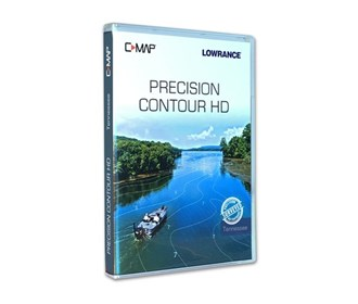 lowrance c map precision contour hd tennessee chart