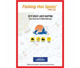 fishing hot spots pro gl 2019 digital map and chip E229