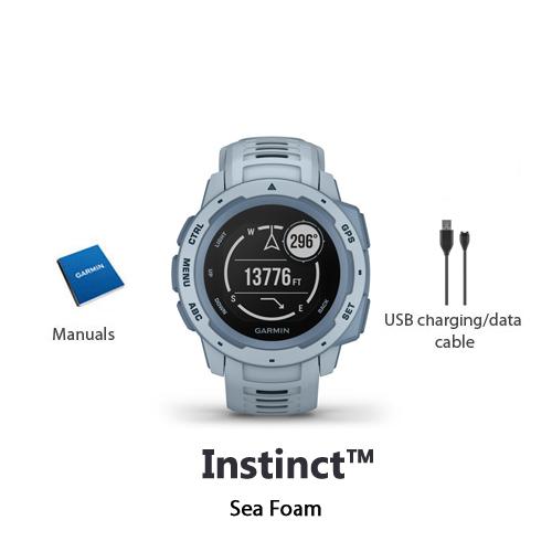 garmin instinct sea foam