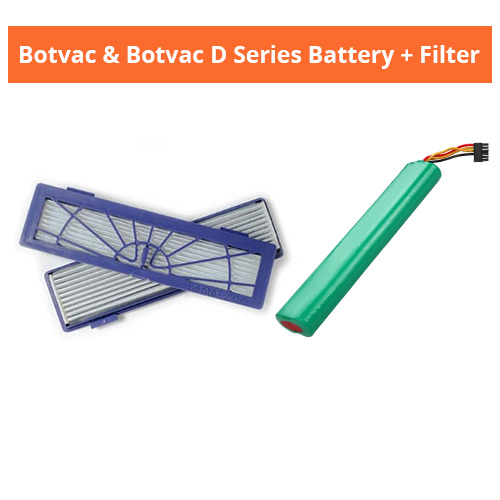 neato botvac and d series filters with battery battery filter