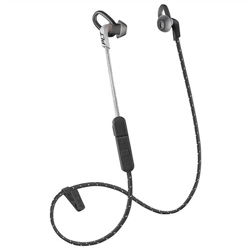 plantronics backbeat fit 305 black with sport mesh pouch