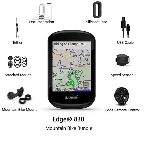 garmin edge 830 mountain bike bundle